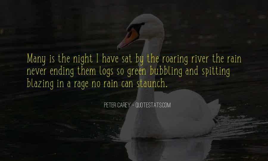 Rain In The Night Quotes #776103