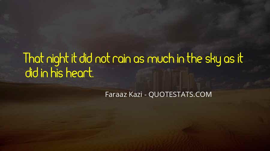 Rain In The Night Quotes #778117