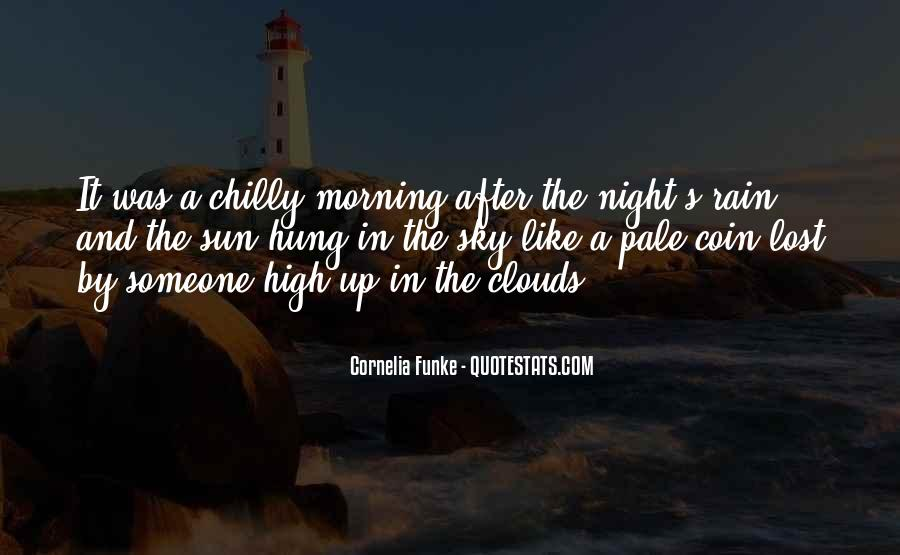 Rain In The Night Quotes #860312