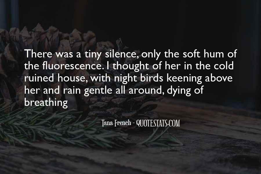 Rain In The Night Quotes #879388