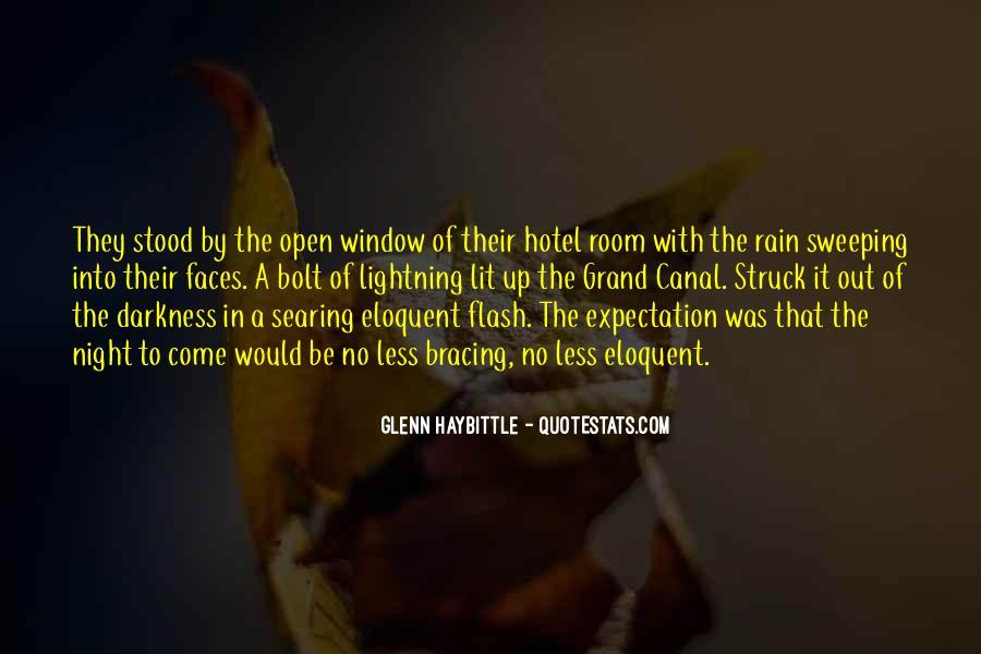 Rain In The Night Quotes #889825