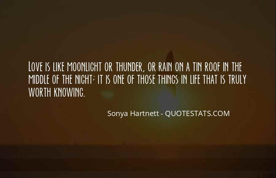 Rain In The Night Quotes #974888