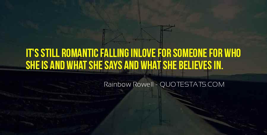 Rainbow Rowell Love Quotes #310586