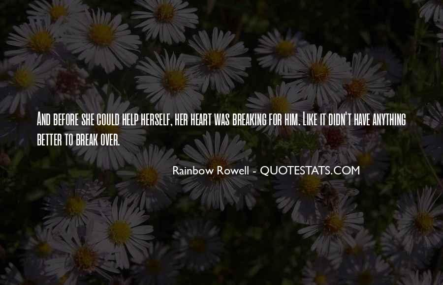 Rainbow Rowell Love Quotes #349489