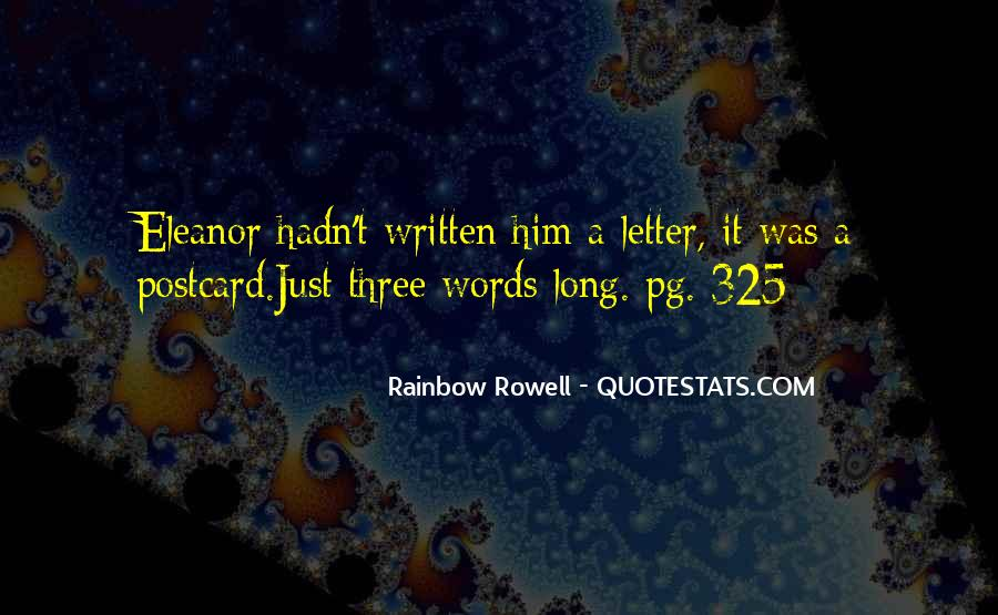 Rainbow Rowell Love Quotes #389460