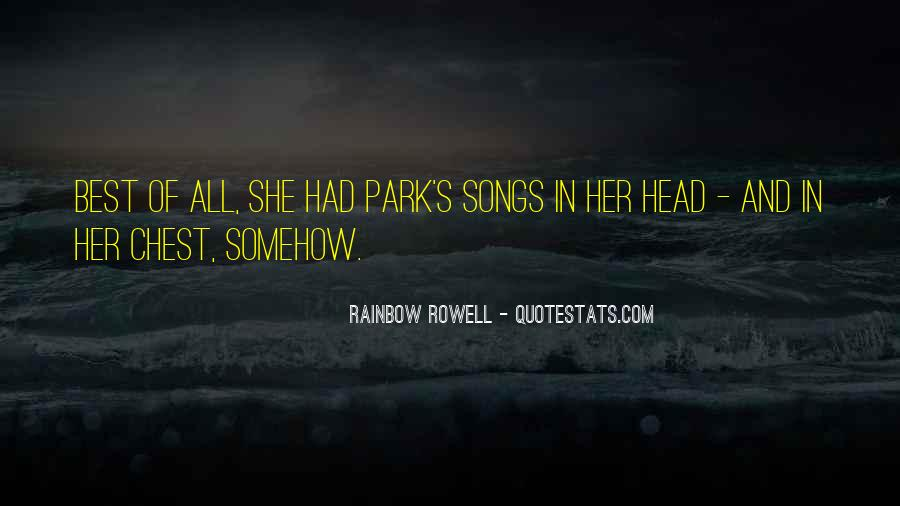 Rainbow Rowell Love Quotes #535324