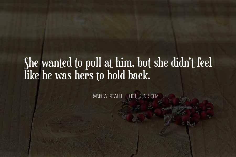 Rainbow Rowell Love Quotes #54109
