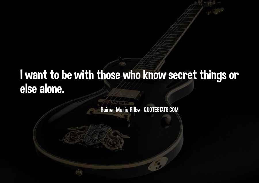 Rainer Maria Quotes #11069
