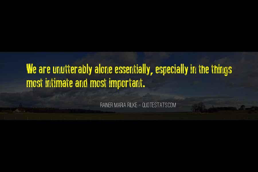 Rainer Maria Quotes #127104