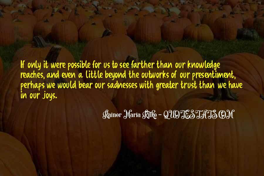Rainer Maria Quotes #128488