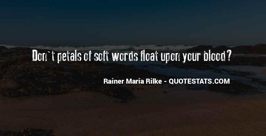 Rainer Maria Quotes #1347