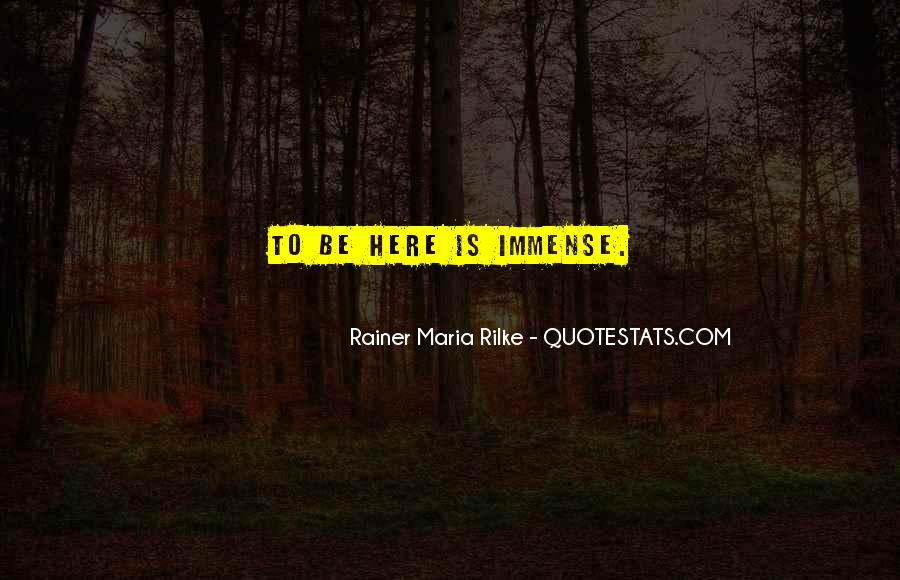 Rainer Maria Quotes #148986