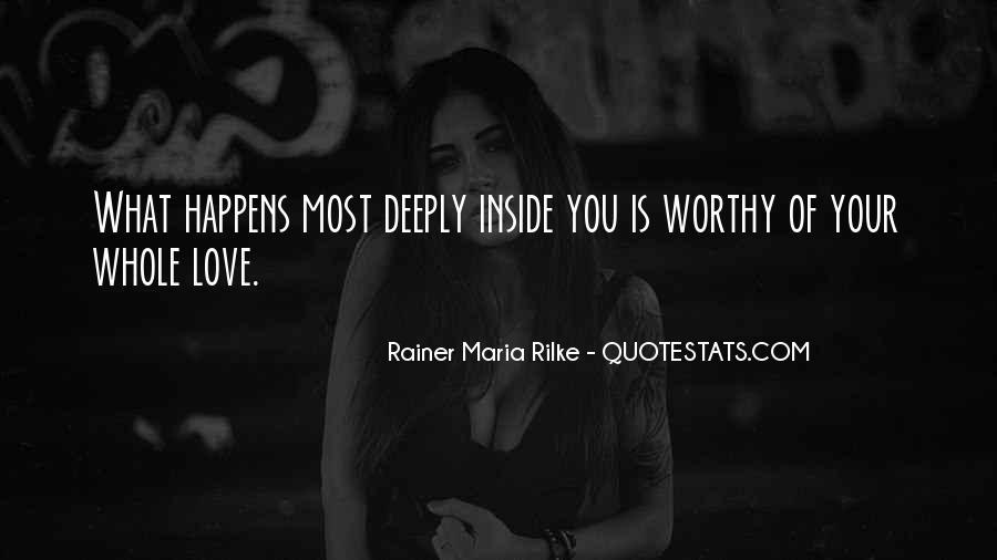 Rainer Maria Quotes #150529