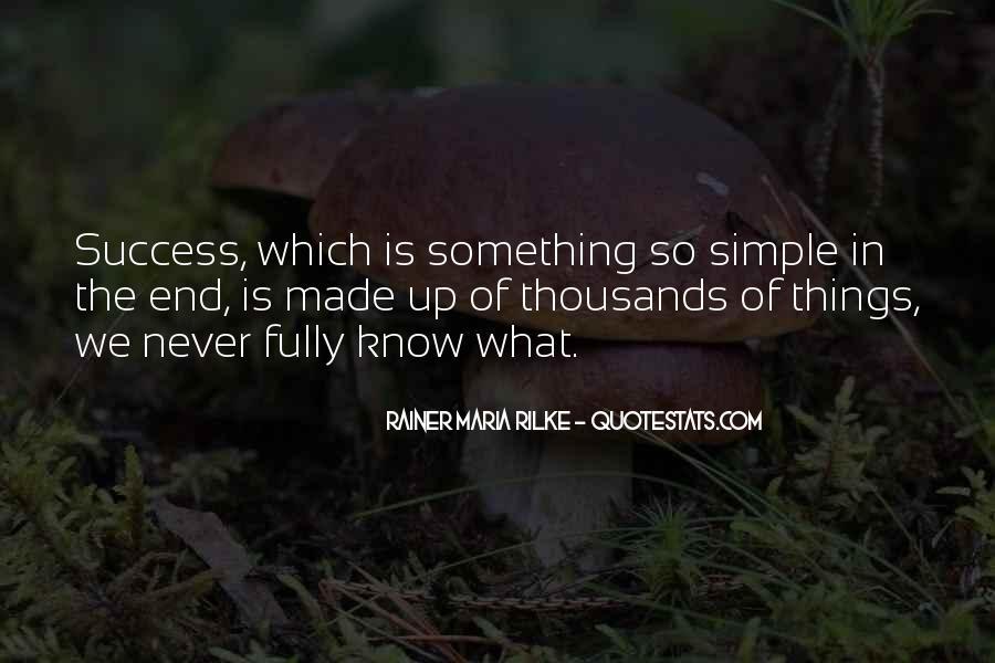 Rainer Maria Quotes #16979