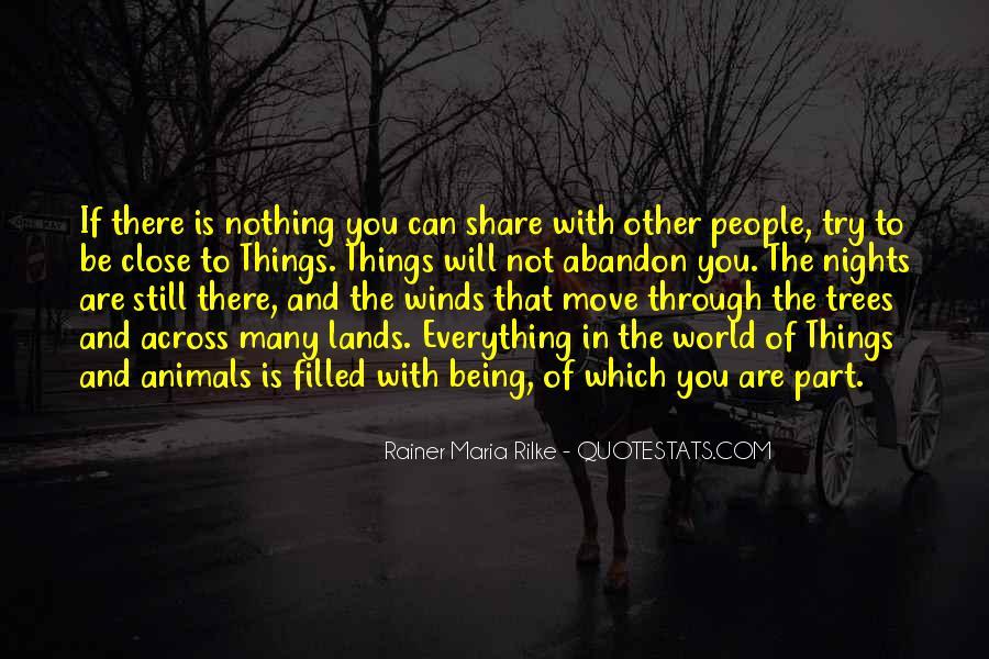 Rainer Maria Quotes #17342