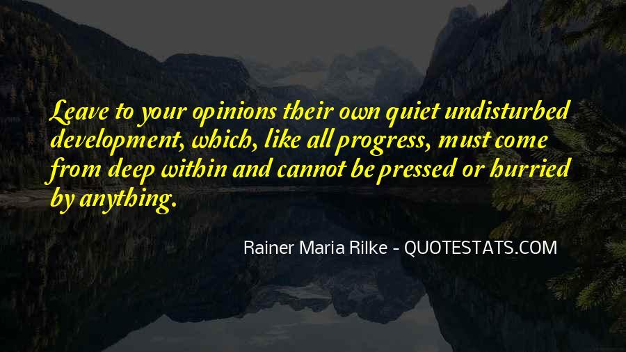 Rainer Maria Quotes #214474
