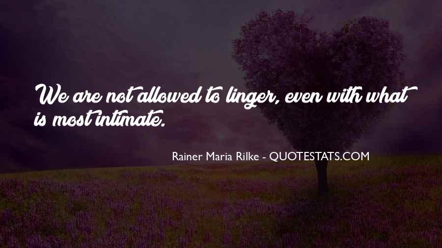 Rainer Maria Quotes #232135