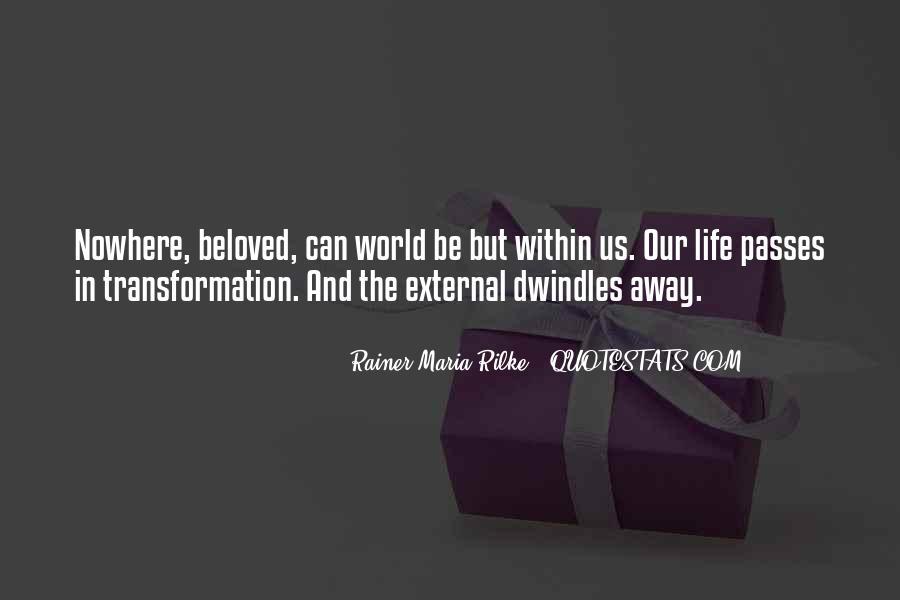 Rainer Maria Quotes #261029