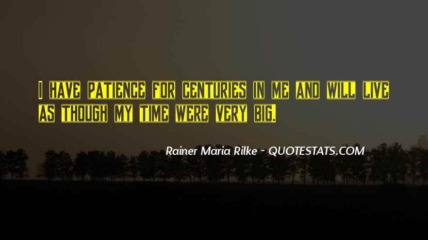 Rainer Maria Quotes #277552
