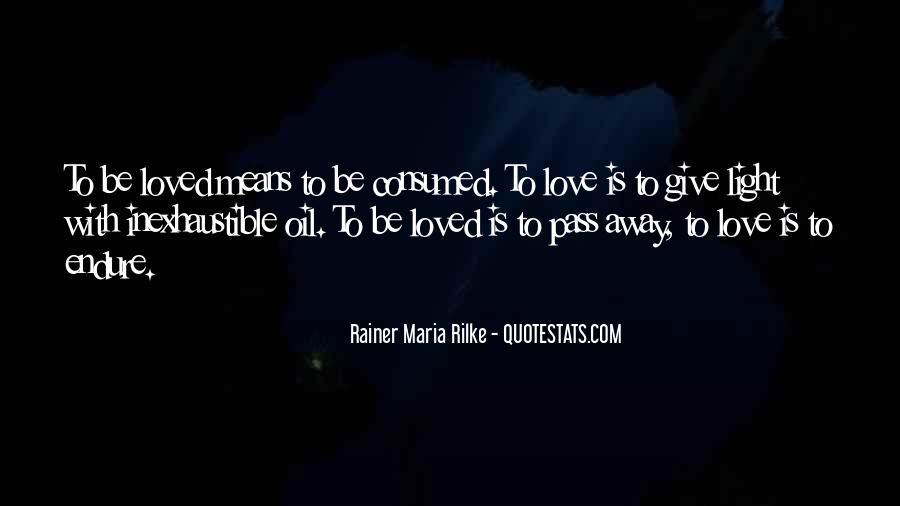 Rainer Maria Quotes #309133
