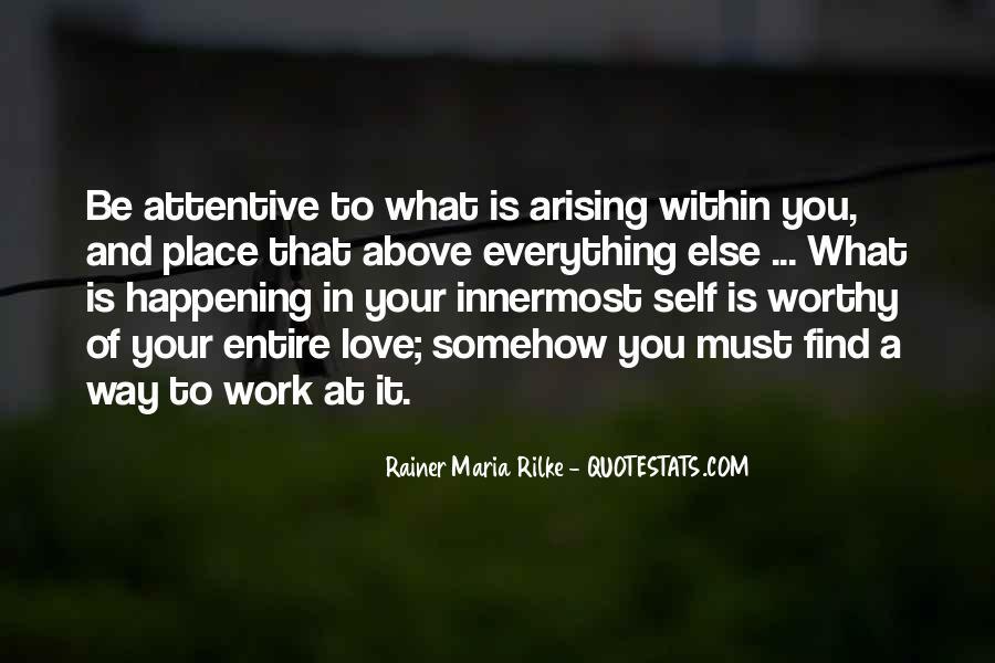 Rainer Maria Quotes #309399