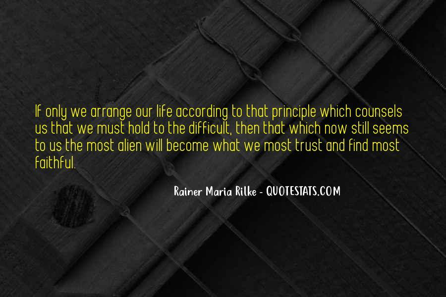Rainer Maria Quotes #312680