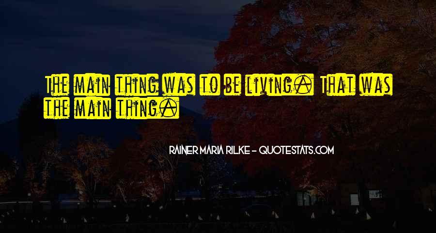 Rainer Maria Quotes #334524