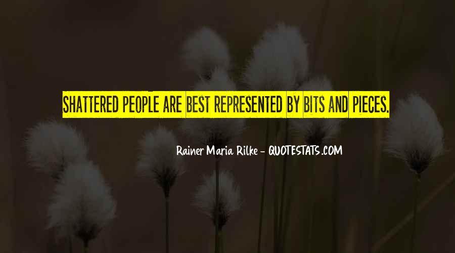 Rainer Maria Quotes #357280