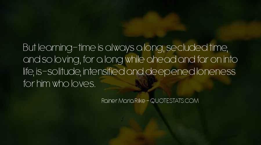 Rainer Maria Quotes #364727