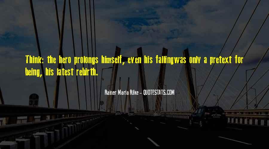 Rainer Maria Quotes #46158