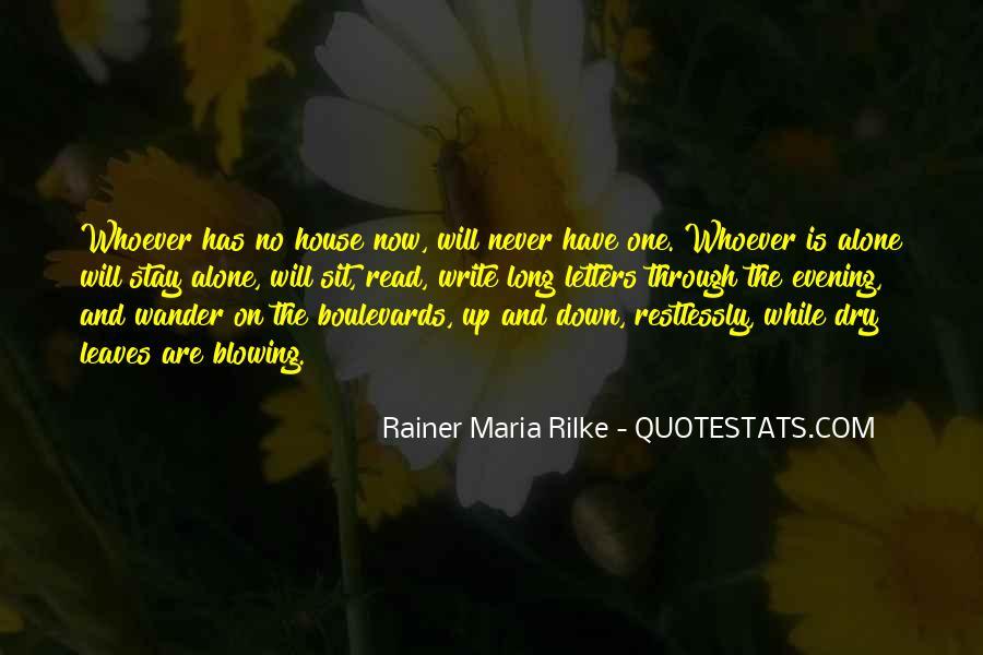 Rainer Maria Quotes #98028