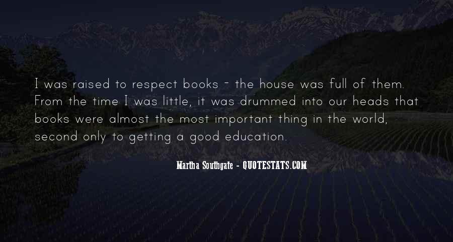 Raised Good Quotes #305579