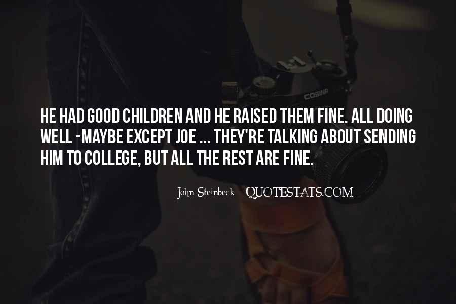 Raised Good Quotes #64877
