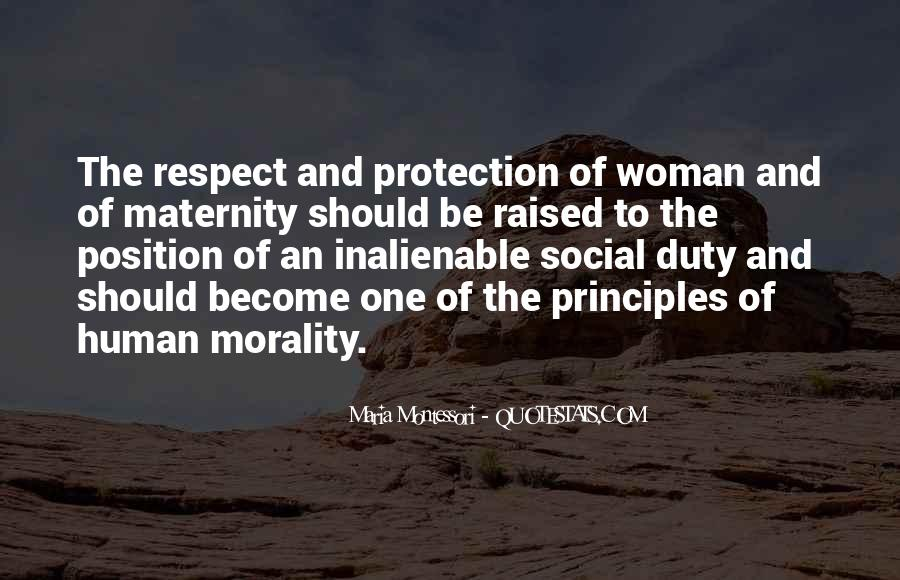 Raised With Respect Quotes #879008