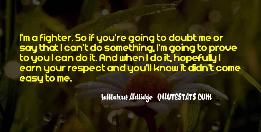 Quotes About Lamarcus Aldridge #321418