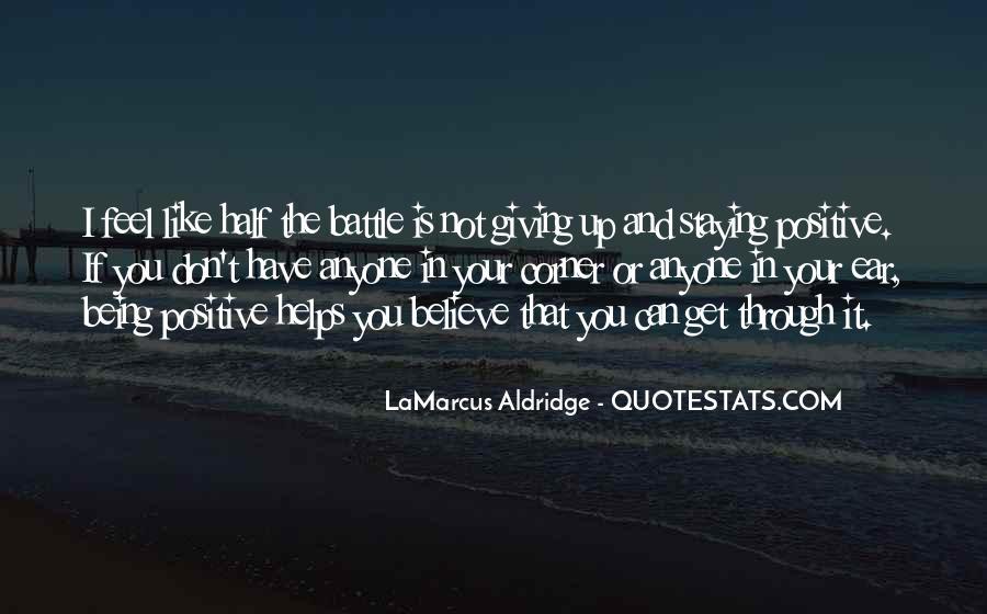 Quotes About Lamarcus Aldridge #365717