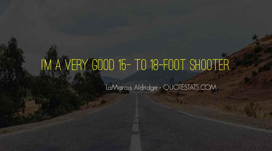 Quotes About Lamarcus Aldridge #862134