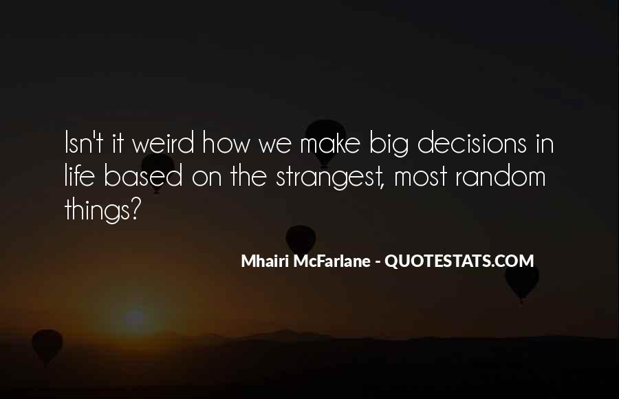 Random Weird Quotes #1273743