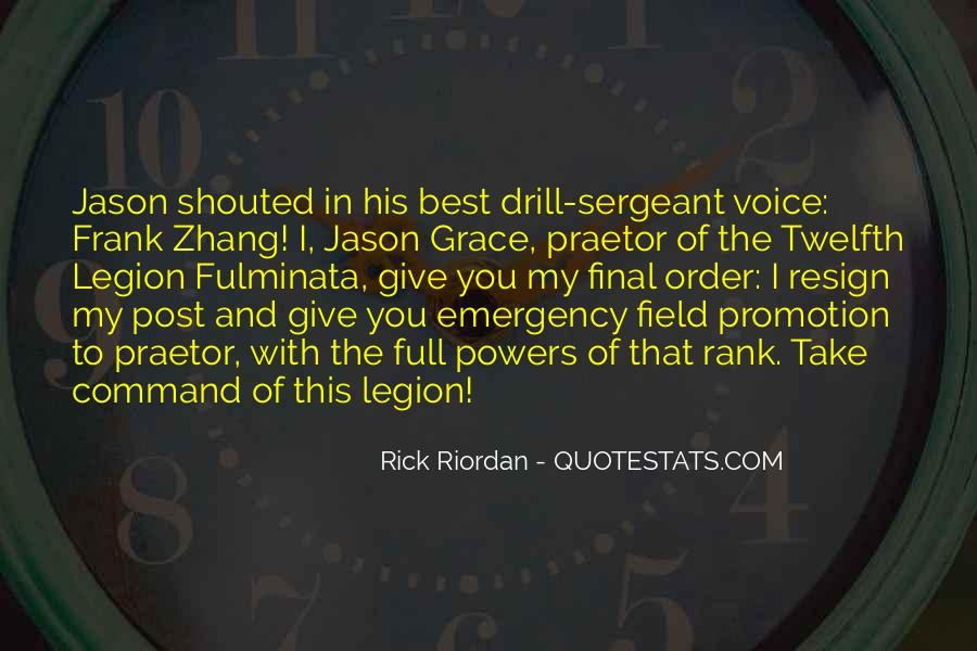 Rank Promotion Quotes #634437