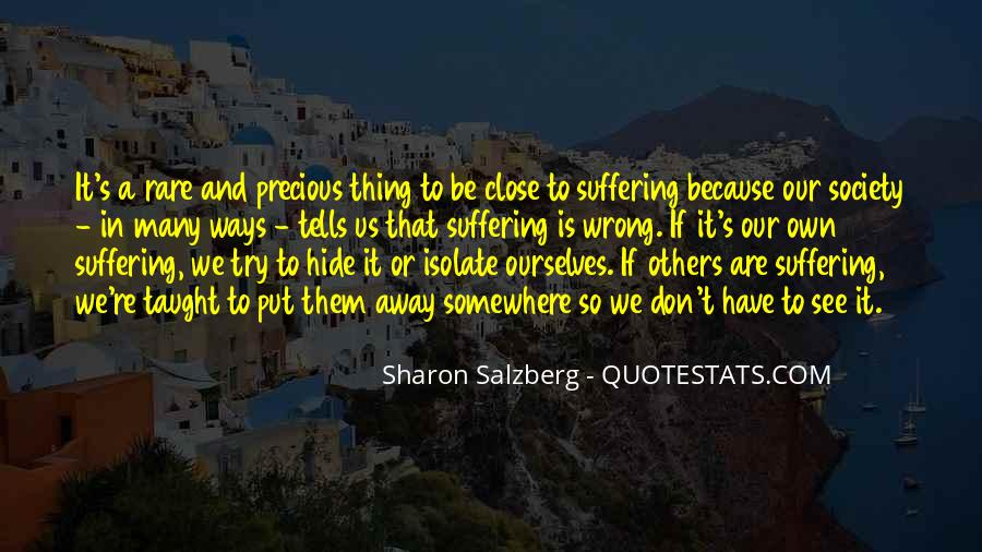 Rare And Precious Things Quotes #124281