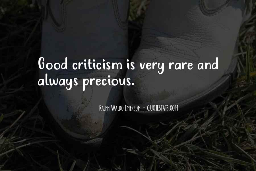 Rare And Precious Things Quotes #779464