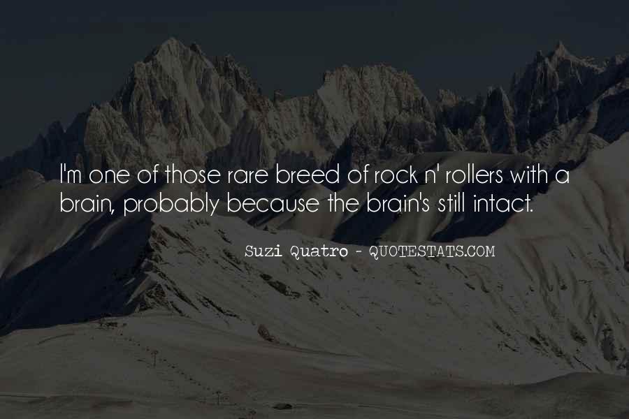Rare Breed Quotes #1178341