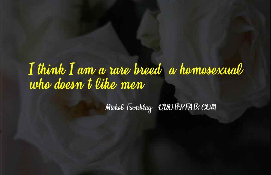 Rare Breed Quotes #1735748