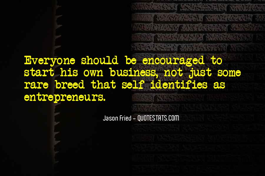 Rare Breed Quotes #30298