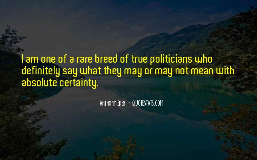 Rare Breed Quotes #778264