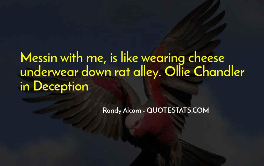 Rat And Cheese Quotes #84291