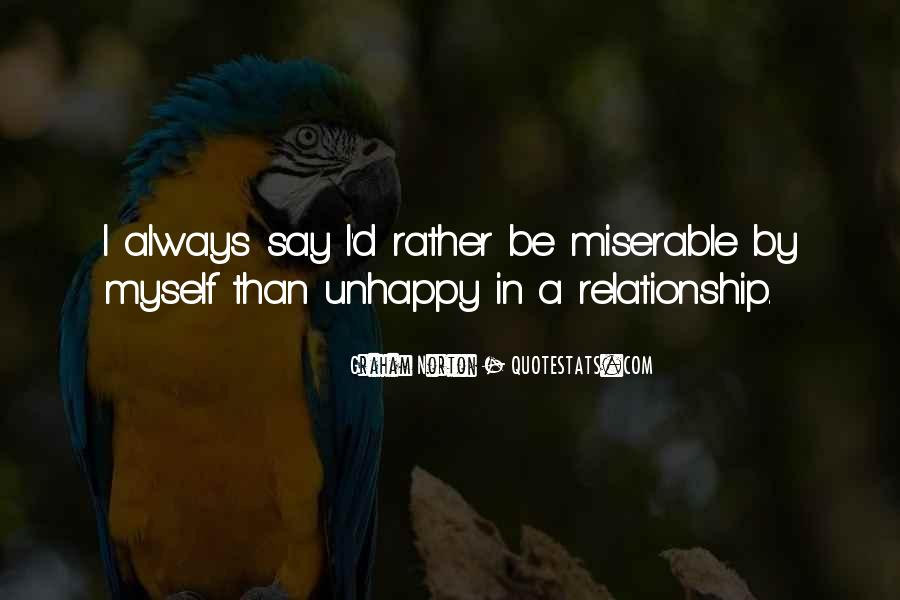 Rather Be By Myself Quotes #822235