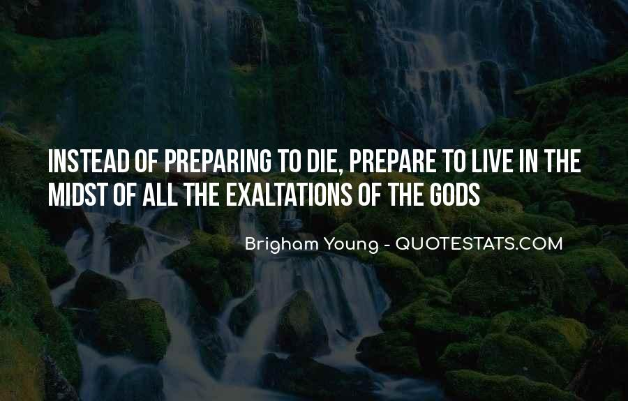 Rather Die Young Quotes #39089