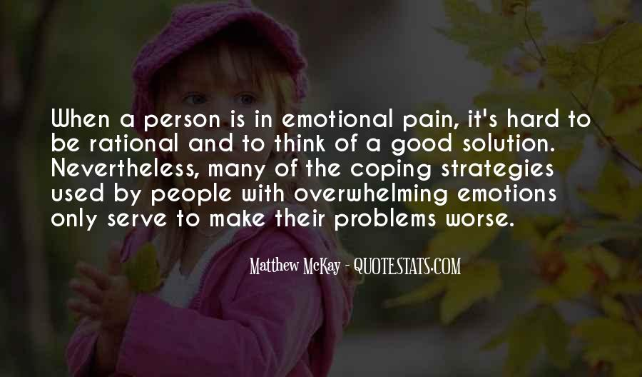 Rational Over Emotional Quotes #1073299
