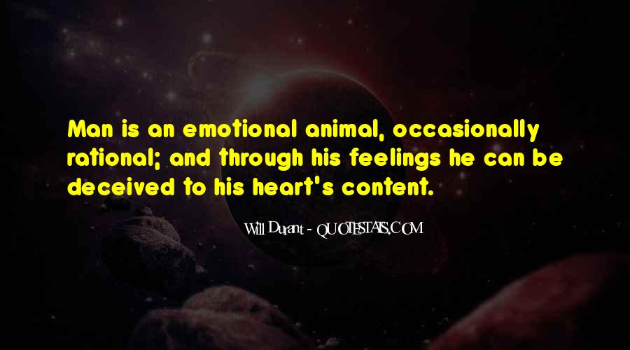 Rational Over Emotional Quotes #358096